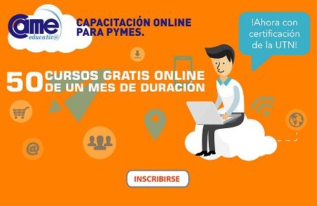 Cursos Gratis online de 1 mes de duración